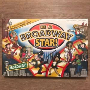 """NWOT """"Be a Broadway Star!"""" Board Game 🎭"""